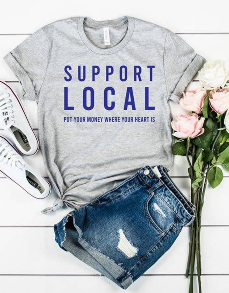 Support Local T-Shirt - Large