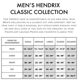 Faceplant Men's Bamboo Hendrix V-neck T-Shirt - Midnight -  X-Large