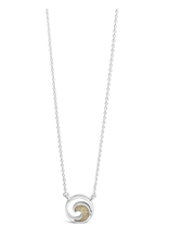 Dune Delicate Dune Wave Necklace - Anna Maria Island