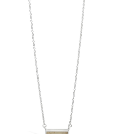 Dune Delicate Dune Bar Necklace - Clearwater Beach
