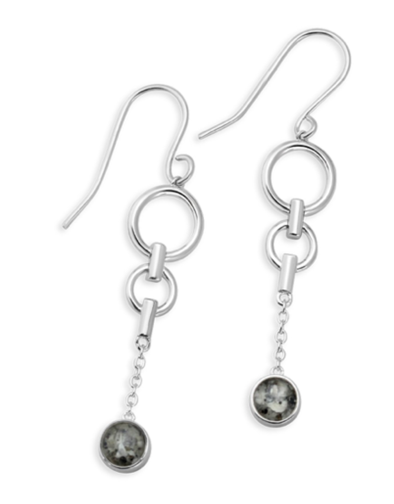 Dune Alina Earrings - Sterling Silver - Crescent Beach