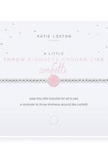 Katie Loxton a little Throw Kindness Around Like Confetti Bracelet