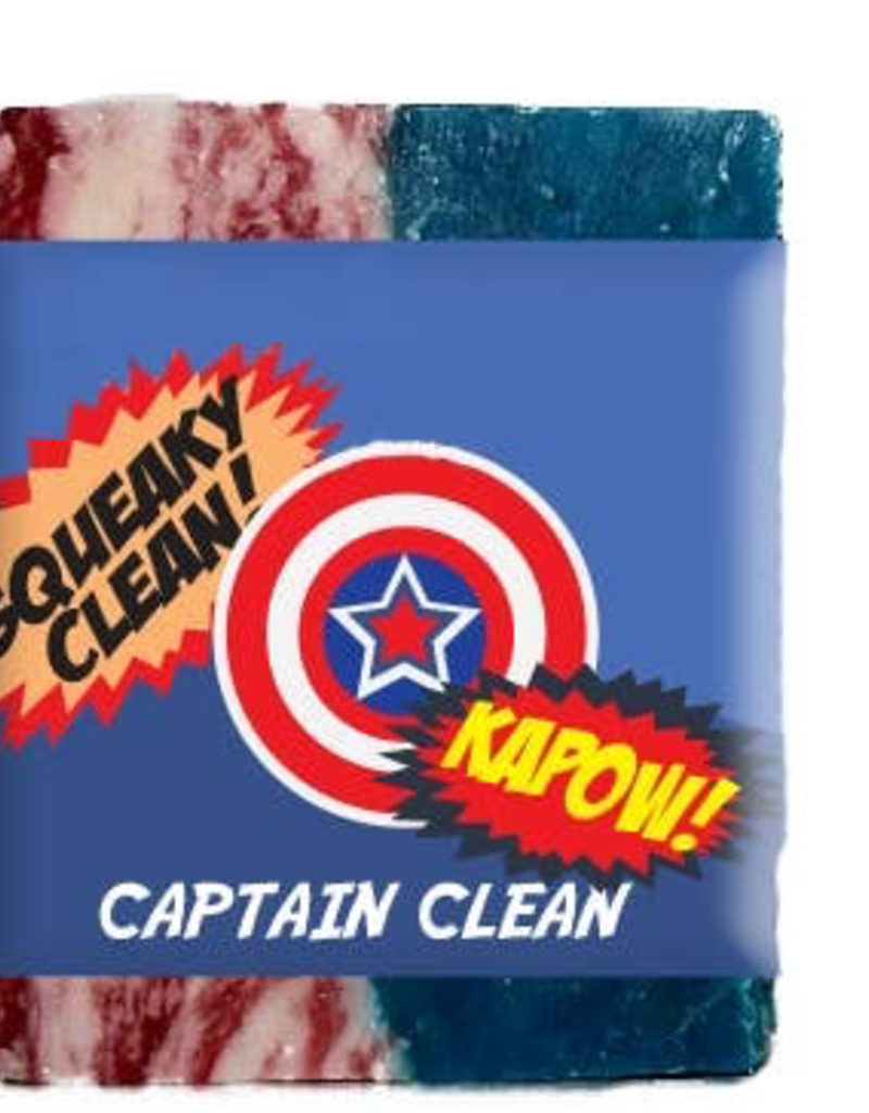 Captain Clean Clean Cotton Scented Soap Bar