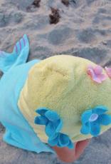 Mermaid Hooded Towel for children