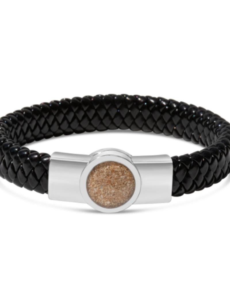 "Dune Jewelry Nautical Woven Bracelet - 7.50"" - Crescent Beach"