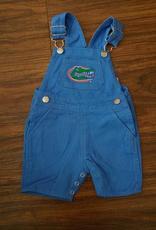 Short Leg Overalls - Gator Blue - 2T