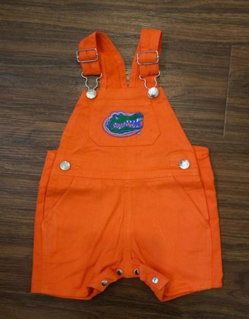 Short Leg Overalls - Gator Orange - 2T