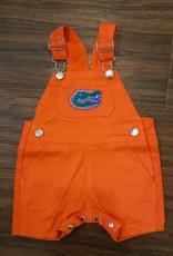 Short Leg Overalls - Gator Orange - 3T