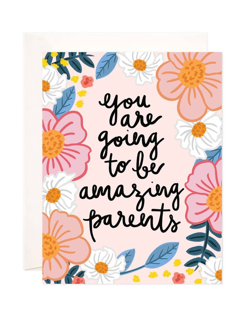 Amazing Parents Greeting Card