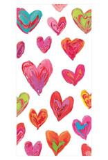 Happy Hearts Facial Tissue Hankies in Ivory - 10 Per Package