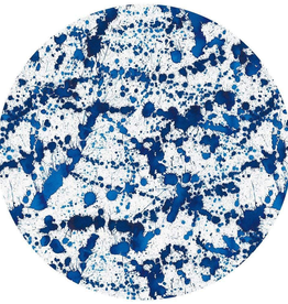 Splatterware Felt-Backed Placemat - 1 Each
