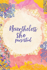 Nevertheless She Persisted Empowerment Card