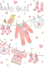 Baby Girl New Baby Card