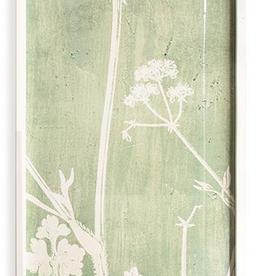 White Lace Botanical Wall Art - 1