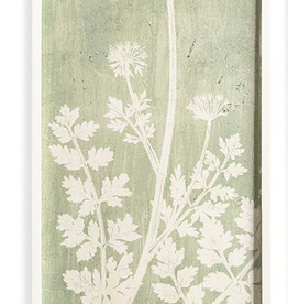 White Lace Botanical Wall Art - 3