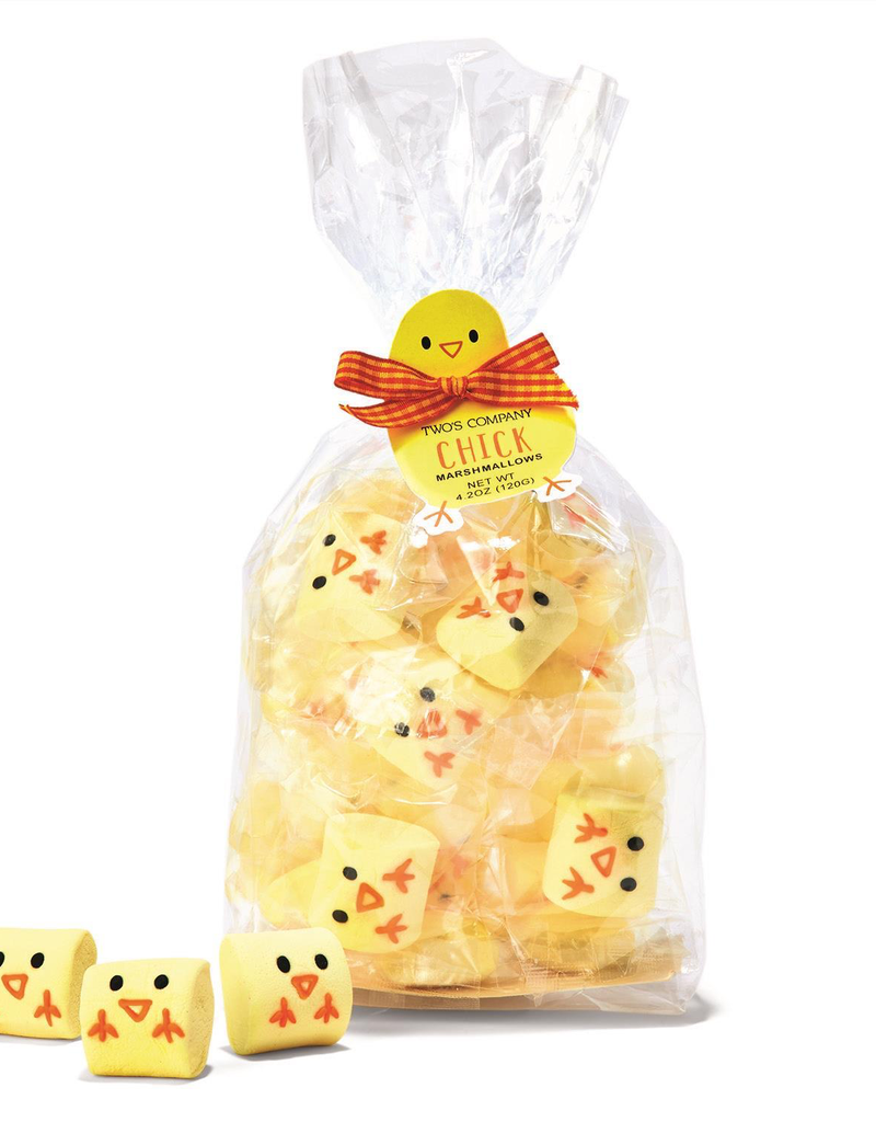 Easter Chick Marshmallow Candy In Gift Bag