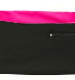 Hips Sister Left Coast Hips Sister Reversible Belt - Black/Pink - Size A