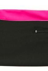 Hips Sister Left Coast Hips Sister Reversible Belt - Black/Pink - Size B