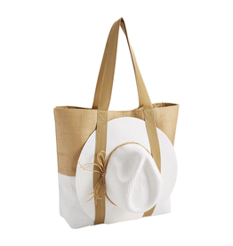 Hat & Tote Gift Sets - White