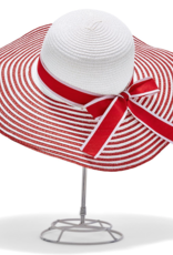 Let Your Stripes Shine Hat - Red & White