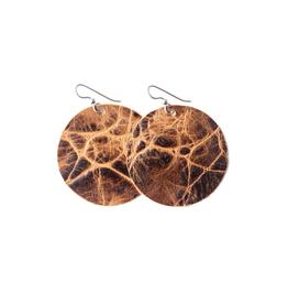 Brown's Island Round Earrings