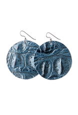 The James Round Earrings