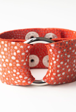 Coral Speckled Cuff