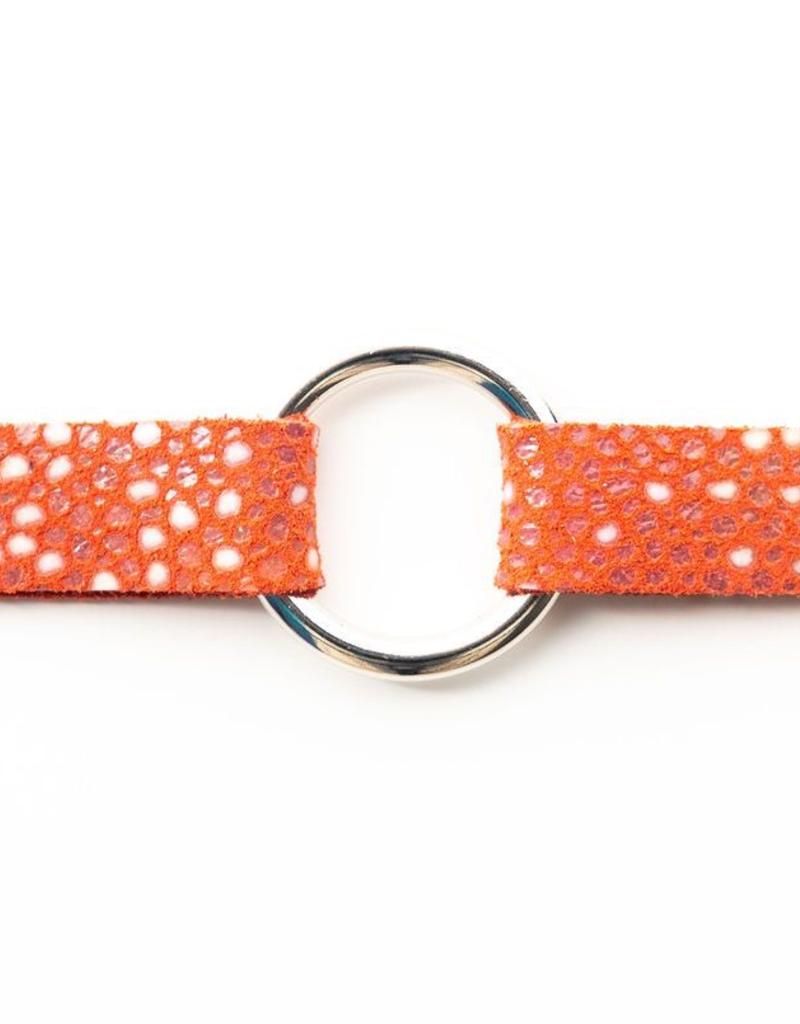 Coral Speckled Bracelet