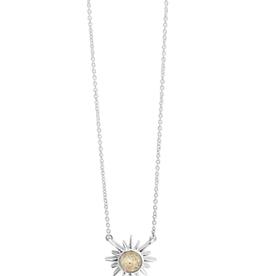 Dune Jewelry Delicate Dune Sunburst Necklace - Amelia Island