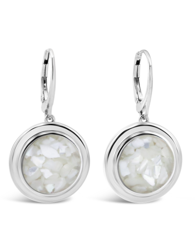 Dune Jewelry Neptune Earrings  - Mother of Pearl