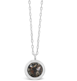 Dune Jewelry Neptune Necklace  - Mother of Pearl