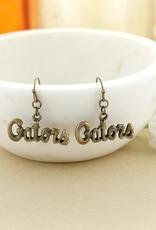 Florida Gators Vintage Style Logo earrings