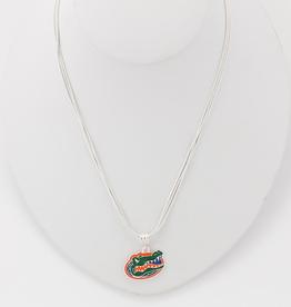 Florida Enamel Logo Necklace