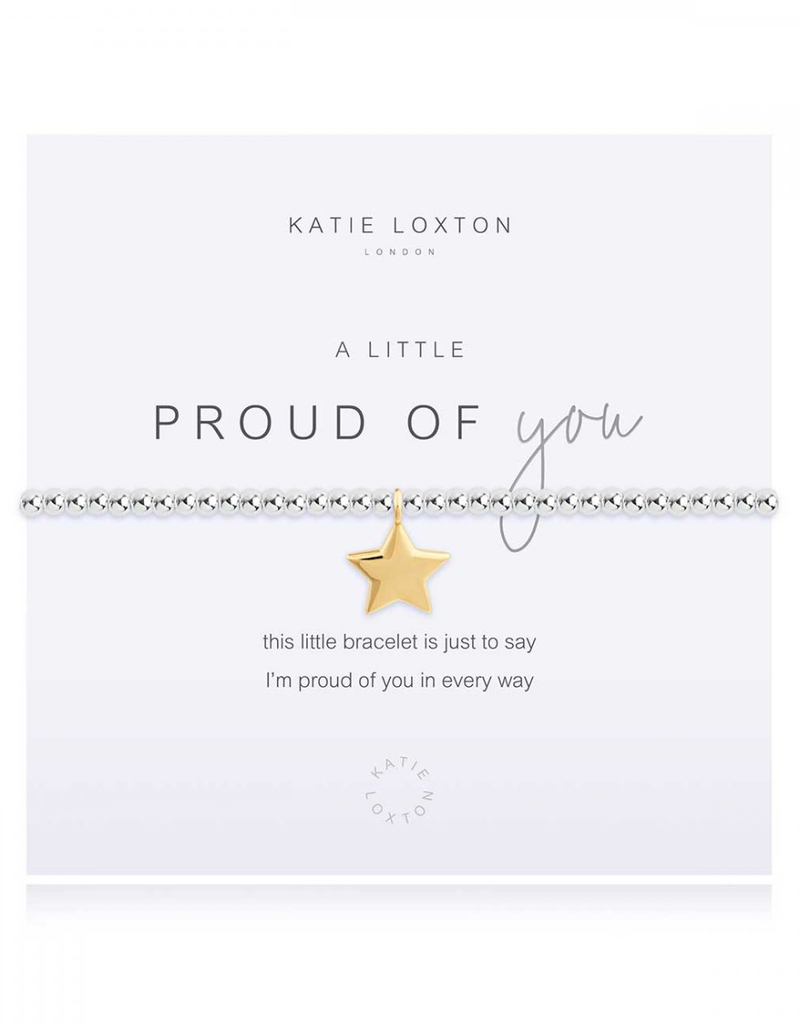 Katie Loxton a little Proud of You Silver Bracelet