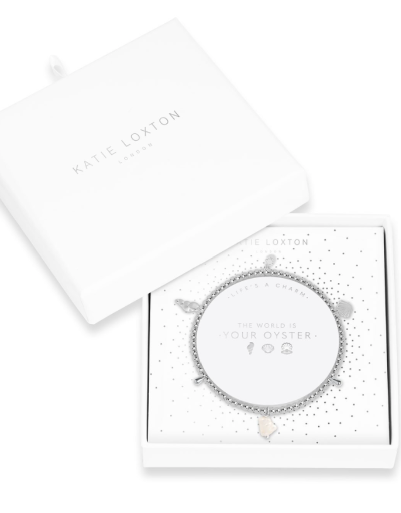 Katie Loxton Life's A Charm Bracelet - The World is your Oyster