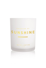 Katie Loxton Sentiment Candle - Dreaming of Sunshine - Pomelo and Lychee Flower