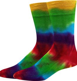 Rainbow Bamboo Tie Dye Socks