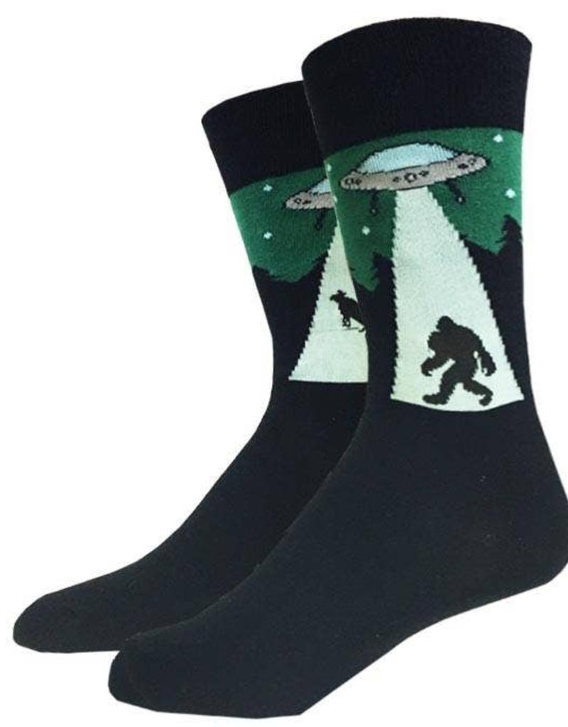UFO Bigfoot Socks