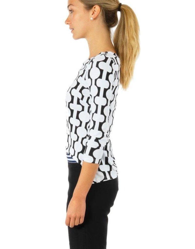 Gretchen Scott Designs GripeLess Bermuda Short - Black - Small