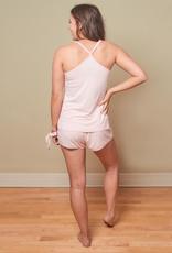 Bamboo Zsa Zsa Cami Short Set - Pink - Large