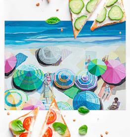Summertime Sun Vinyl Placemat