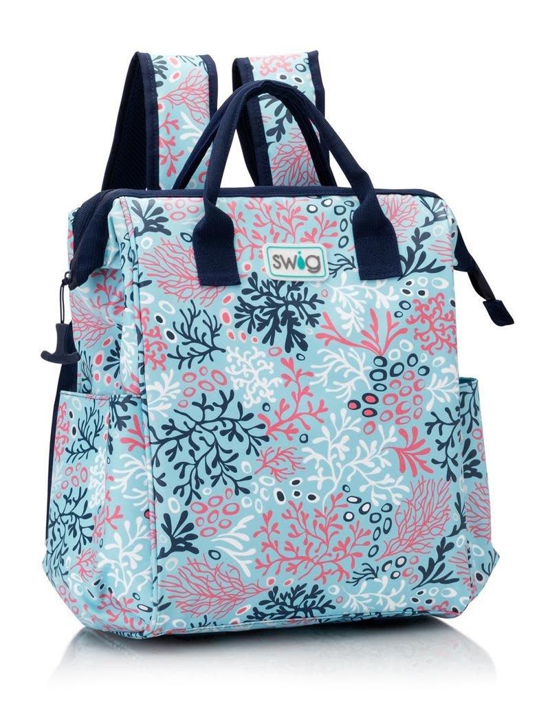 Swig Coral Me Crazy Wireframe Backpack Cooler