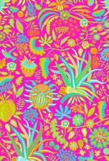 Gretchen Scott Girls Cotton Dress - Hummingbird Heaven - Pinks - 4-6