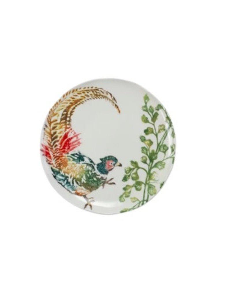 Vietri Fauna Pheasants Salad Plate