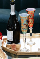 Vietri Regalia Champagne Glass - Cream