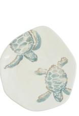 Vietri Tartaruga Turtle with Body Salad Plate