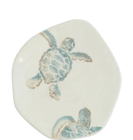 Vietri Tartaruga Turtle with Head Salad Plate
