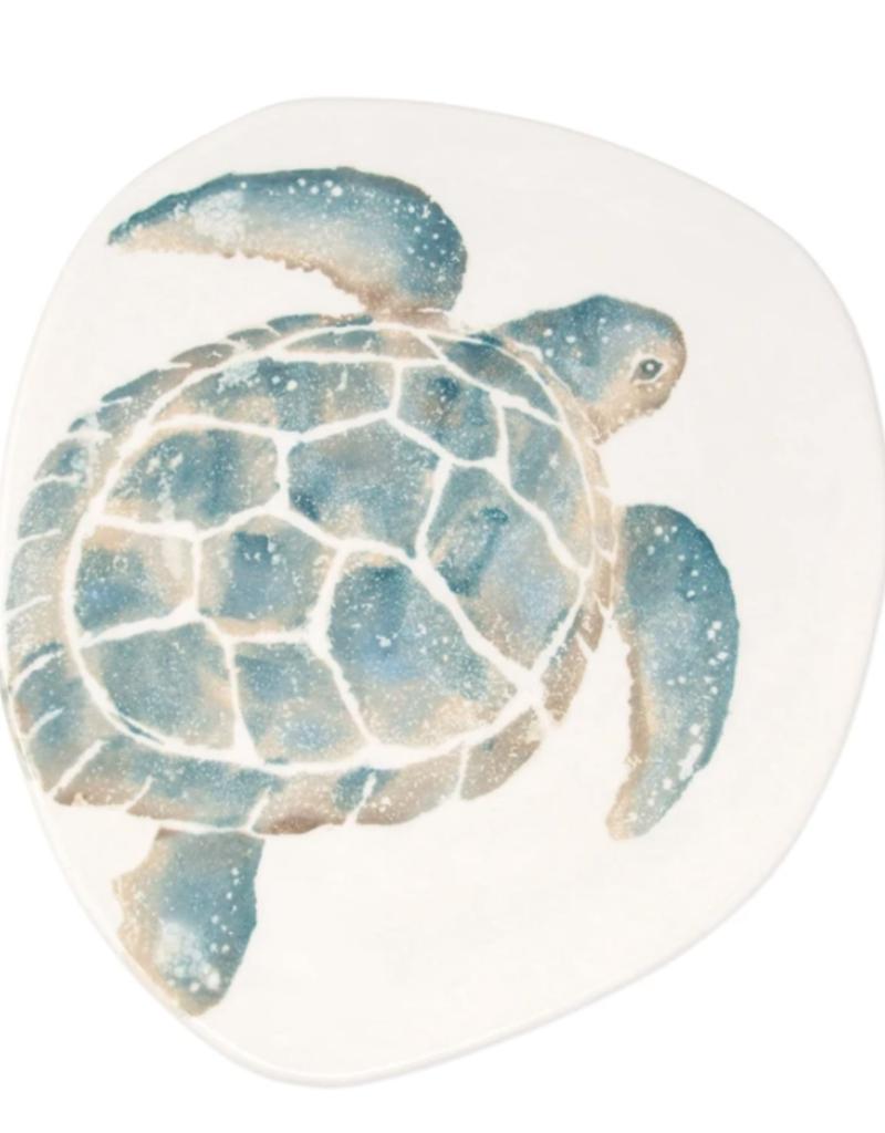 Vietri Tartaruga Turtle Dinner Plate