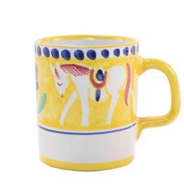 Vietri Campagna Cavallo Mug