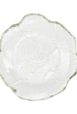 Vietri Foglia Stone White Salad Plate